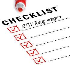 checklist terugvragen btw
